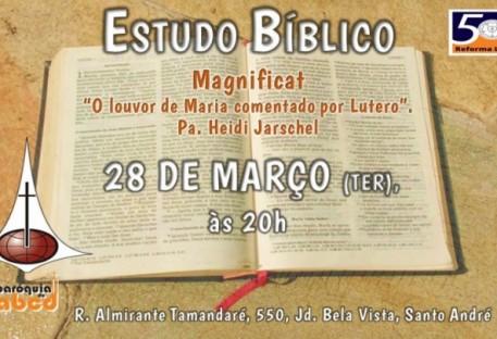 Estudo Bíblico - Magnificat