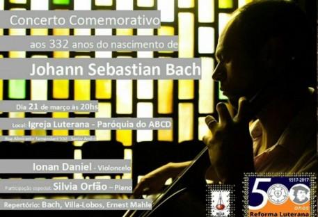 Concerto Comemorativo Nascimento de Johann Sebastian Bach - 500 Anos de Reforma