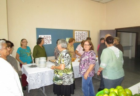 Grupo de Idosos - Comunidade Amizade, Paróquia Apóstolo Tiago - Jaraguá do Sul/SC