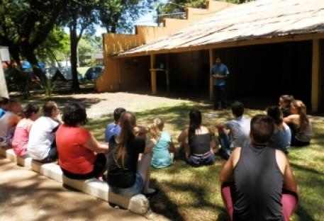 Conselho de Missão entre Povos Indígenas (COMIN) no Acampamento Repartir Juntos 2017