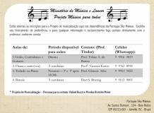 Que tal aprender a tocar um instrumento musical?