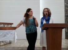 Famílias refugiadas sírias fazem palestra em Campinas, SP