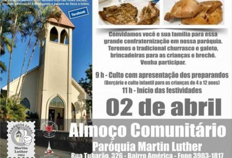 ALMOÇO COMUNITÁRIO
