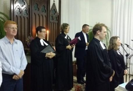 Culto de instalação de casal de ministros em Arroio do Padre/RS