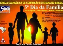 5º Dia da Família - Serra Pelada - Afonso Cláudio/ES