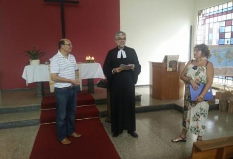 Início oficial da IECLB Selos em Belo Horizonte