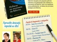 Lançamento do livro Mulheres no movimento da Reforma