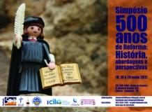 Simpósio 500 anos da Reforma Luterana: História, abordagens e perspectivas