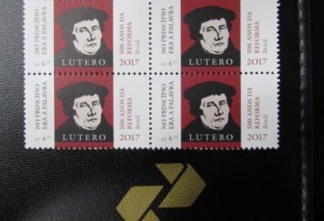 Selo Comemorativo dos 500 Anos da Reforma Luterana  é lançado em Curitiba/PR