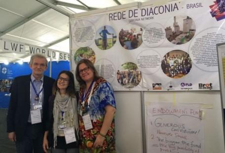 Rede de Diaconia na Omatala da Assembleia da Federação Luterana Mundial