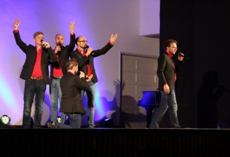Quinteto alemão Viva Voce se apresentou no Sínodo Vale do Itajaí