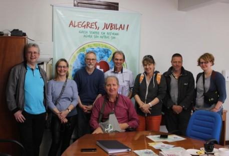 Comitiva de alemães visita o Sínodo Vale do Itajaí e renova parceria