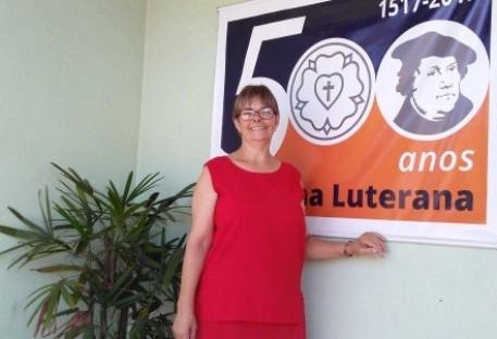 História de vida de Laurene Weber