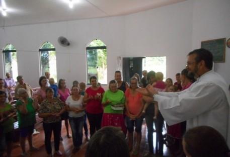 Culto Comunidade Rio Claro da Paróquia de Espigão do Oeste - RO