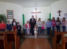 Crianças celebram a Páscoa na Paróquia de Erval Seco/RS