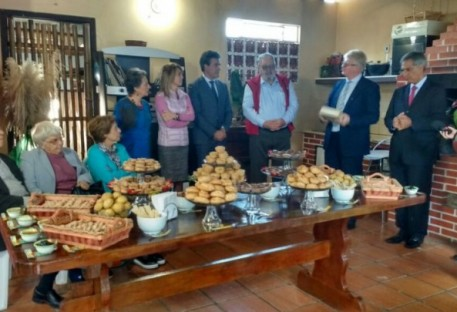 Luteranos com o governador do Paraná