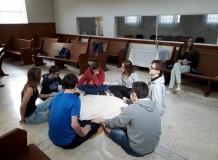 Encontro de jovens e ensino confirmatório em Campinas, SP