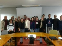 Visita de estudantes de Faculdades EST à Secretaria Geral – Missio antes que tardia