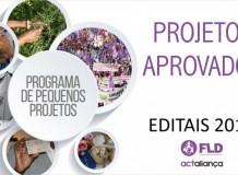 Projetos Aprovados pela Fundação Luterana de Diaconia - Editais de 2017
