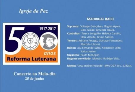 Igreja da Paz oferece Concerto ao Maio-Dia