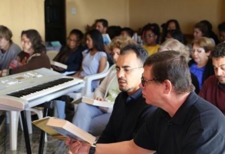 Coral da Comunidade Evangélica de Confissão Luterana de Brasília visita Paróquia de Ceilândia/DF