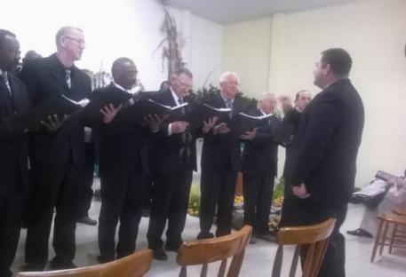 Aniversário do Coral Alegres em Cristo e festa da Colheita
