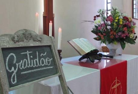 Culto de Ação de Graças na Comunidade Martin Luther - Parobé/RS