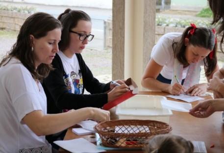 Em Garuva, Escola Bíblica de Férias/2017...