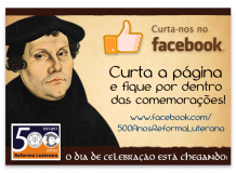 500 anos da Reforma Luterana no Facebook
