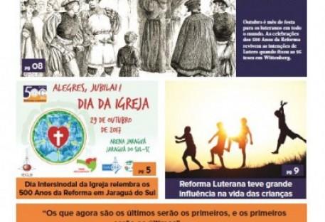 Joinville Luterano. Ano XVII - Número 102 - Setembro e Outubro 2017