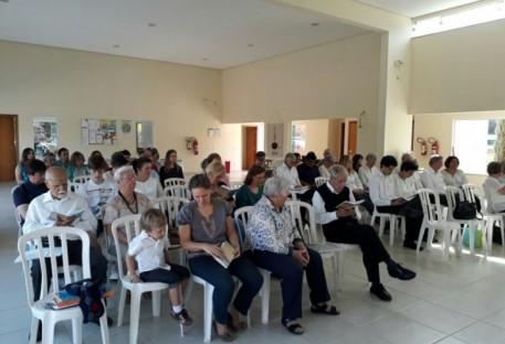 Culto Dia dos Pais e primeira apresentação do Coral da Comunidade