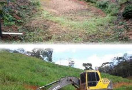 Paróquia em Serra Pelada realiza ações para a conservação do solo e água