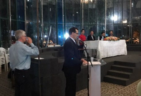 Alocução do Pastor Elton Pothin - Lançamento do Selo Comemorativo dos 500 anos