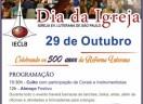 FESTA DA REFORMA - 500 anos da Reforma Luterana 1517-2017