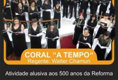 Concerto sacro abre os festejos do jubileu da Reforma em Santo André