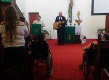 Culto da Semana da Pessoa com Deficiência em Ibirama/SC