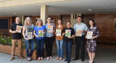 Reunião da equipe editorial da revista O Amigo das Crianças
