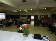 Lideranças da OASE do Sínodo Vale do Itajaí discutem violência contra a mulher