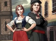 Dias de Tempestades - História de Martim Lutero e Catarina de Bora em quadrinhos