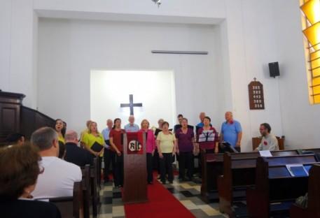 Culto Ecumênico em Memória dos 500 Anos da Reforma na Igreja Luterana de Santos 08/10/2017
