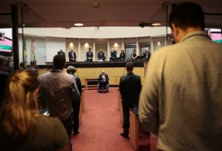 Sessão solene na Assembleia Legislativa de Santa Catarina marca os 500 anos da Reforma Luterana