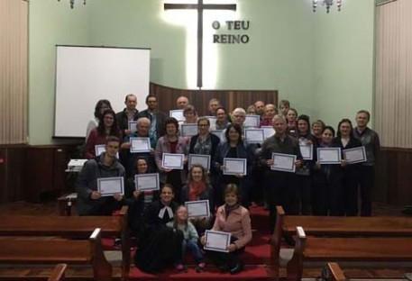Mais duas turmas concluem o Trilha 8 em Nova Petrópolis/RS