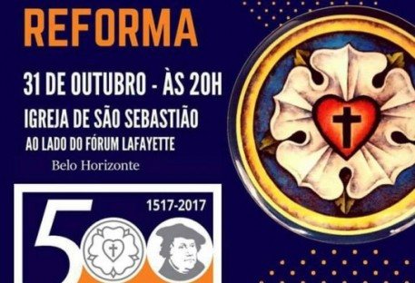 Calendário de Eventos do Jubileu dos 500 Anos da Reforma - Mês de Outubro de 2017