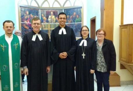 Paróquia de Três Coroas/RS recebe novo pastor