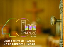 40 anos da Comunidade de Campinas - São José/SC