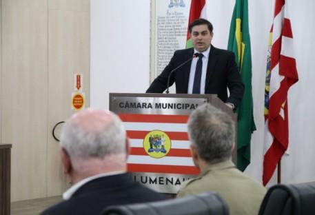 Sessão Solene em Blumenau abre a Semana dos 500 anos da Reforma