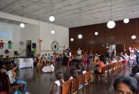 Dia das crianças no jubileu da Reforma - Tarde da Amizade