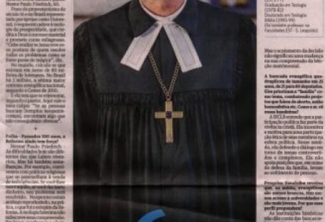 Mundo evangélico não pode ser visto como um bloco, diz líder luterano
