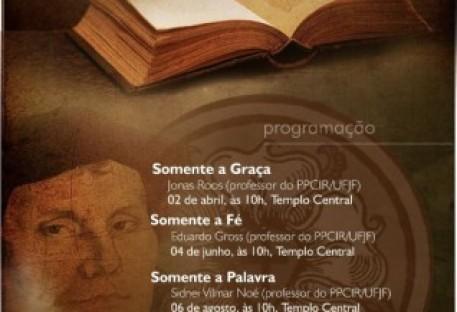 Comunidade inicia ciclo de palestras temáticas sobre os 500 Anos da Reforma
