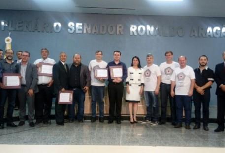 Sessão Solene na Câmara Municipal de Cacoal/RO